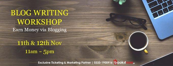 Blog Writing Workshop