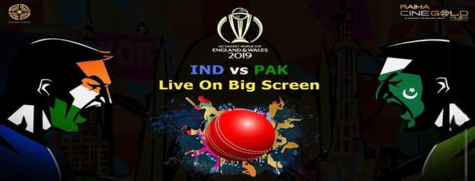 icc world cup 2019 pakistan vs india live screening