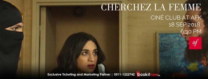 Ciné Club at AFK: Cherchez La Femme