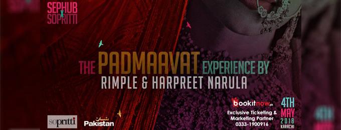 the padmavat experience by rimple & harpreet narula