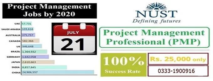 nust - pmp certification workshop
