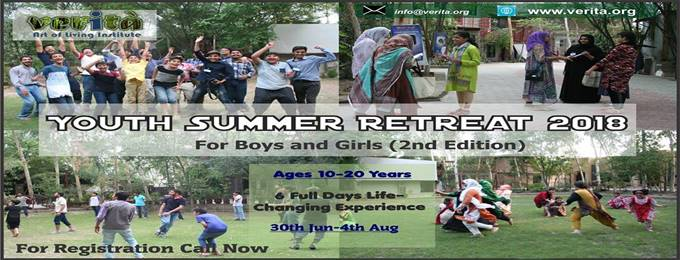 youth summer retreat 2018 (for boys and girls) 2nd edition