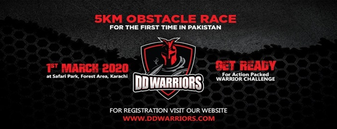 dd warrior obstacle race