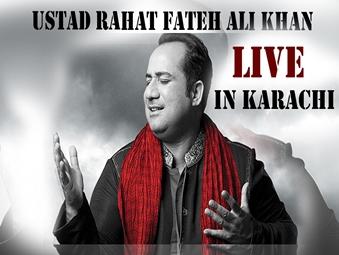 Rahat Fateh Ali live in Karachi