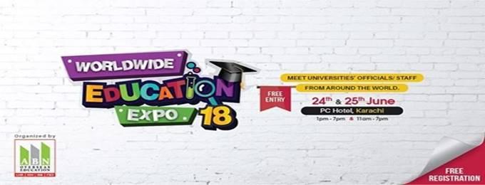worldwide education expo 2018 in karachi