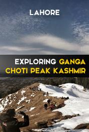 exploring ganga choti peak kashmir lahore