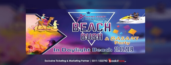beach bush & basant
