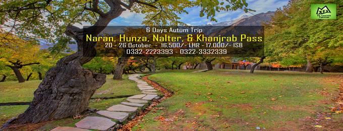 6 days trip naran, hunza, nalter & khanjrab pass 20 - 26 october