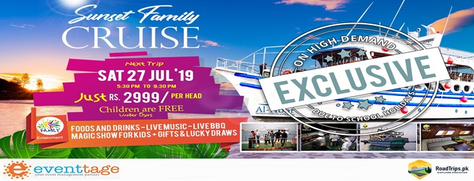 exclusive cruise on high demand due to school holidays