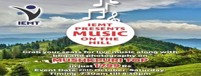 live music on mushkpuri top