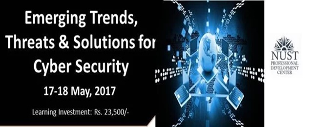"two days workshop on ""emerging trends, threats and solutions for cyber security"""