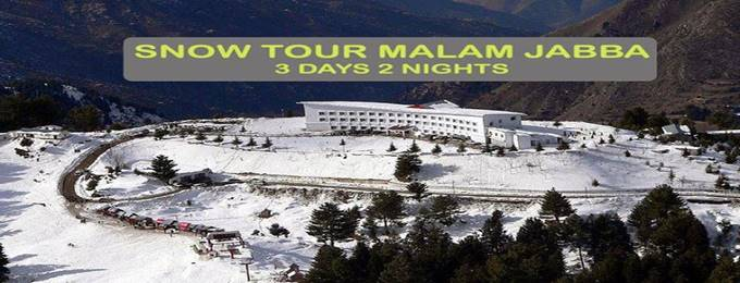 3 days snow skiing tour to malam jabba swat