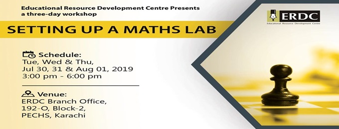 erdc workshop: setting up a maths lab
