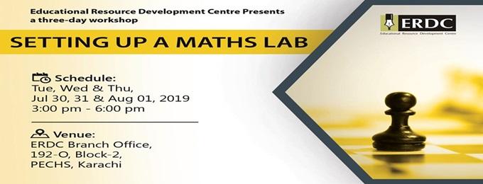 erdc workshop: setting up a maths lab