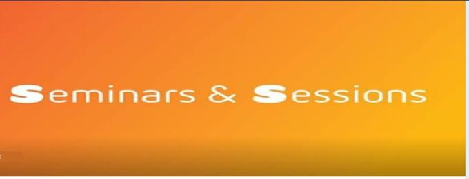 sessions & seminar