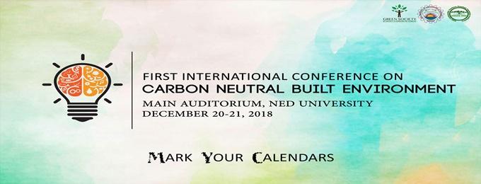 carbon neutral built environment