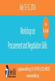Workshop on Procurement and Negotiation Skills  Islamabad