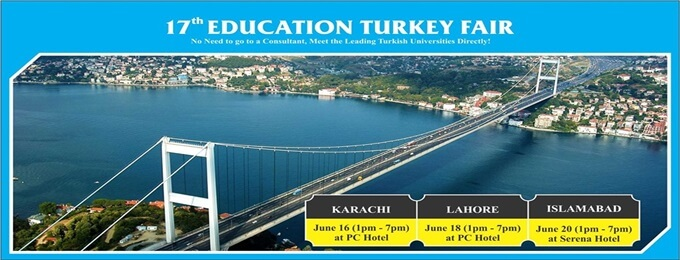 17th education turkey fair: islamabad