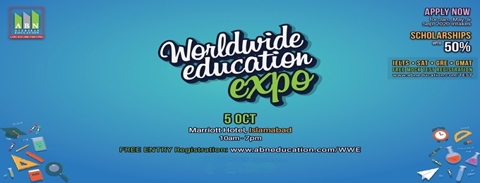 worldwide education expo in islamabad