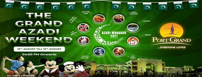 Grand Azadi Weekend