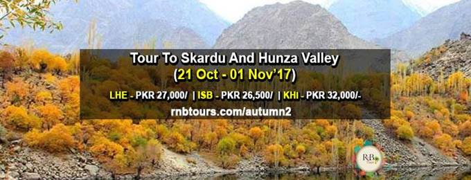 autumn tour to skardu and hunza valley