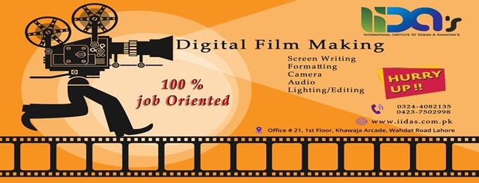 become a digital film maker (post production)