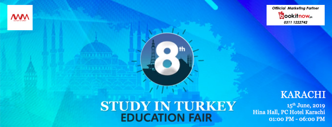 8th Study in Turkey Education Fair Karachi