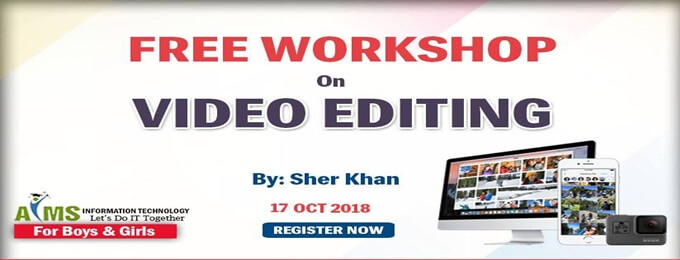 free video editing workshop