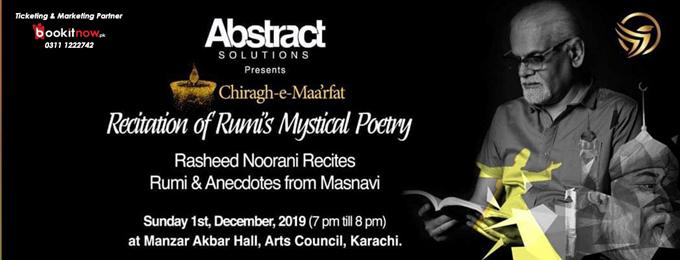 chiragh-e-maa'rfat | a night dedicated to mevlana rumi