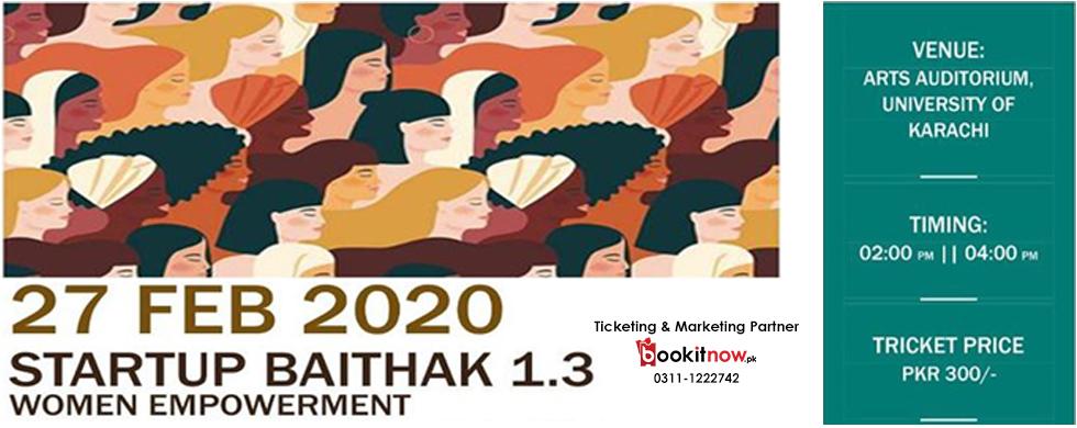 startup baithak 1.3 | women empowerment