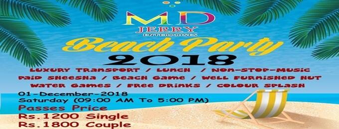 beach party 2o18