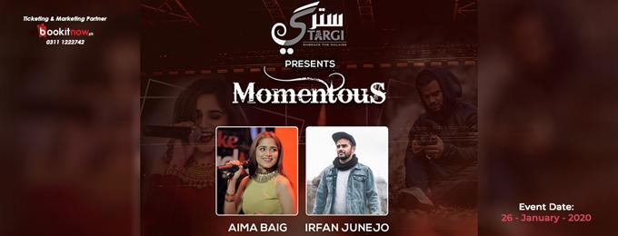 aima baig's concert (momentous)