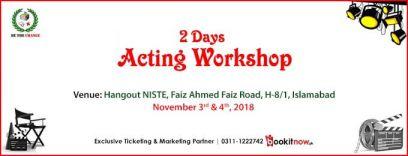 acting workshop (basic to professional )