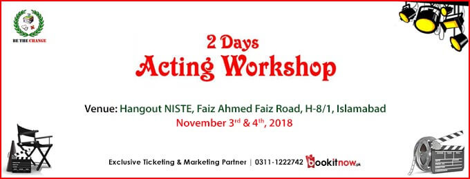 Acting Workshop (Basic to Professional )