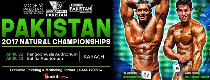 Musclemania Pakistan Natural Championship