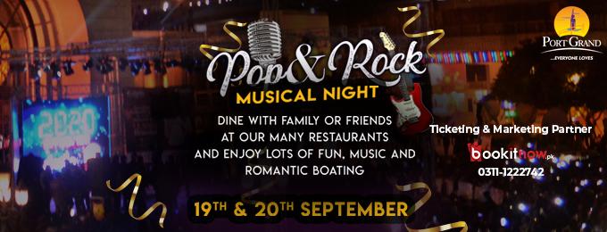Pop & Rock Musical Night