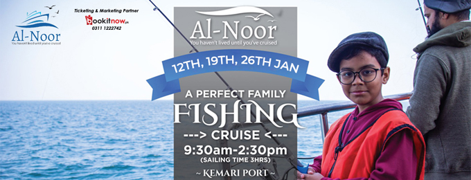 a perfect family fishing cruise