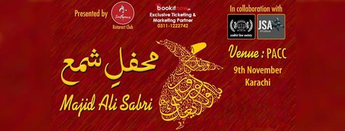 Qawali Night By Southpaws - Rotaract Club Of Portcity Karachi.