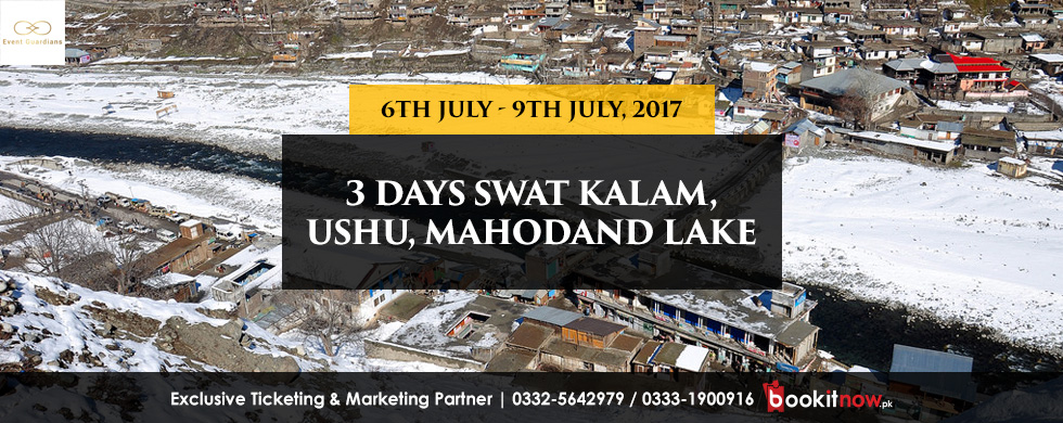 3 days trip to swat kalam, ushu, mahodand lake