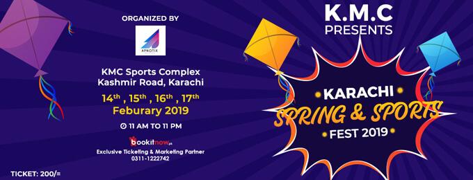 KARACHI SPRING & SPORTS FEST 2019