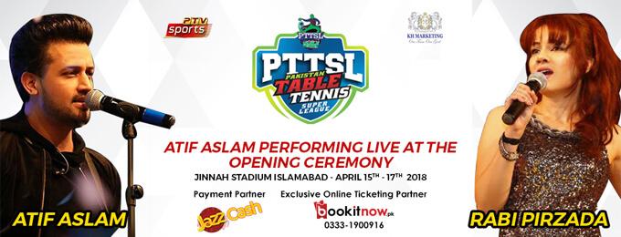 Atif Aslam Live in Islamabad ( PTTSL )