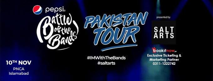 Pepsi Battle of the Bands Pakistan Tour - Islamabad