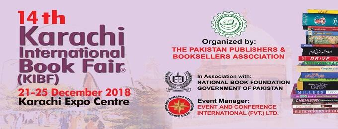 14th karachi international book fair 2018