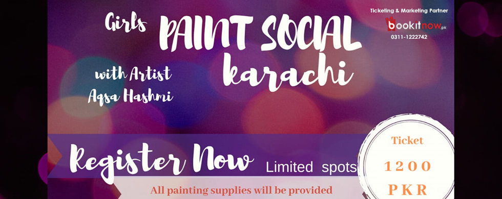 paint social karachi