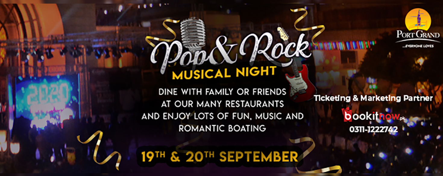 pop & rock musical night