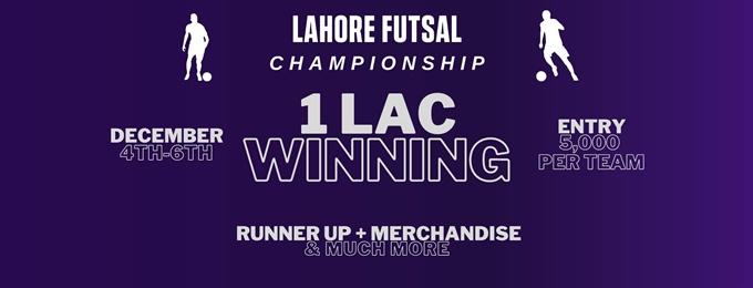 bullwhip concepts presents lahore futsal championship
