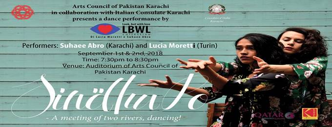 sindhupo - dance performance by suhaee abro and lucia moretti