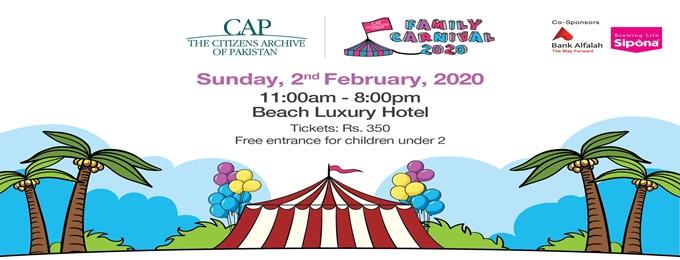 cap family carnival 2020