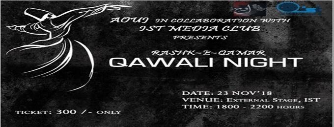 """qawali night """"rashk-e-qamar"""""""